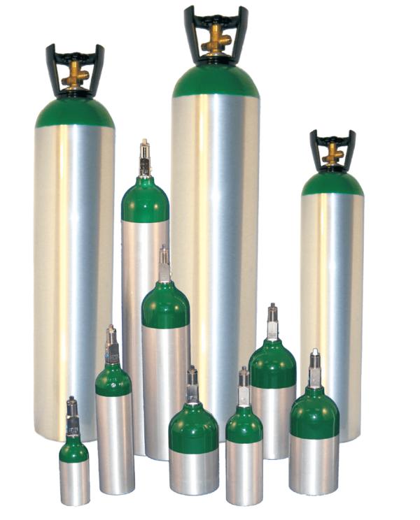metal impact aluminum cylinders